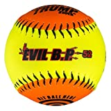 1 Dozen Evil Bp 12' Softballs - 52cor/.300 Compression AK Evil BP52 12 Balls