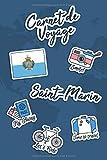 Carnet de Voyage Saint-Marin: Journal de Voyage | 106 pages, 15,24 cm x...