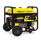 Champion Power Equipment 100522 4375/3500-Watt RV Ready Portable Generator with Wheel Kit, CARB