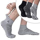 Anti-Skid Socks With Grips Non Slip Socks Ideal For Pilates, Yoga Exercise
