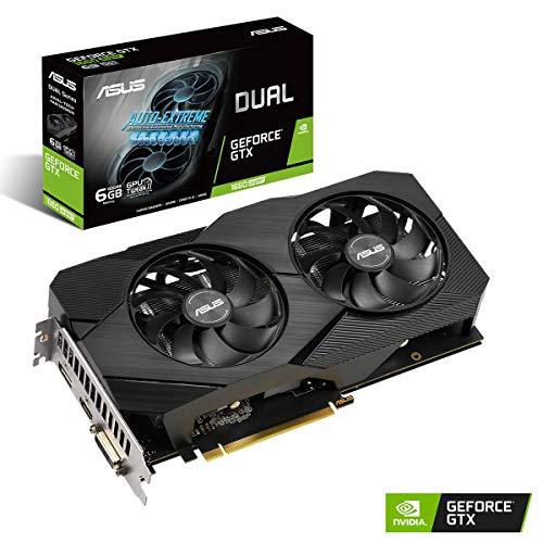 ASUS GeForce GTX 1660 Super Dual Evo 6GB GDDR6 Scheda Grafica DP/HDMI/DVI