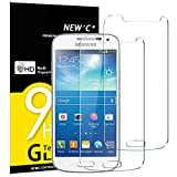 NEW'C Lot de 2, Verre Trempé pour Samsung Galaxy S4 Mini Film Protection écran...