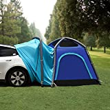 Topfit for Tesla Tent Camping SUV Trunk Tailgate 5 Person Auto Tents Dome Tents Inflatable Large Model X/Y/3/S(Upgrade Alone)