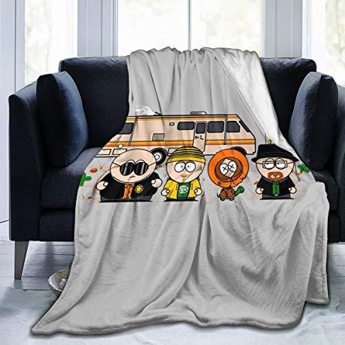 Nujshf Breaking Park Bad South Kyle Heisenberg Cartman Hank Stan Jesse Kenny Tortuga - Coperta in...