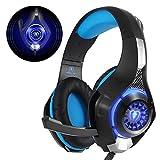 Beexcellent GM-1, Cuffie Gaming con microfono Cuffie da Gioco Bass Stereo per PS4