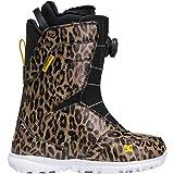 DC Search BOA Snowboard Boots Leopard Print 9 B (M)