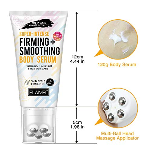 Hot Cream Massage Gel, Fat Burning Cream, Slimming Cream with Multi- ball, Cellulite Tightening Cream (120g) 4