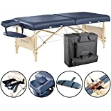 Master Massage 30' Coronado Portable Massage Table Package, Royal Blue