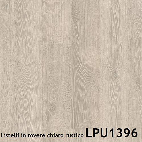 Pavimenti in laminato Quick Step | LARGO Prezzo per pacco da 2,522 m (Listelli in rovere chiaro...