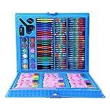 KELEQI Prima de Conjunto del Arte - 150 Pinturas Piezas, Pintado básico Sistema de la Mezcla, Ideal para Principiantes, Profesionales y Artistas,Azul