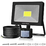 MEIKEE Projecteur LED avec détecteur de mouvement 50W 5000LM lampe de...