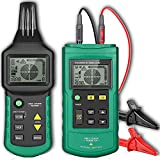 GAOTek Underground Wire Tracker Cable Metal Pipe Locator Detector Professional Tester Conducting Cables, Electrical Circuits, Pipelines, Fuses, Switches, Short Circuits Finder Through Concrete-GFL-107