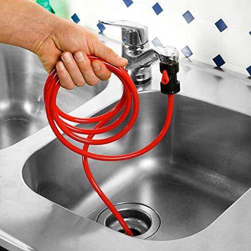 deeel 109937 Rhorfrei Rohrfrei-Power Rohrreiniger mit Rücklaufventil