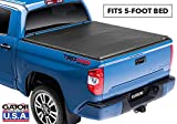 Gator ETX Soft Tri-Fold Truck Bed Tonneau Cover   59409   fits Toyota Tacoma 2016-19 (5 ft bed)