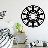 Logotipo de la moda Etiqueta de la pared Papel tapiz artístico autoadhesivo Etiqueta de vinilo Decoración del hogar Papel tapiz Pared de la habitación de los niños Decoración creativa A4 43x42cm