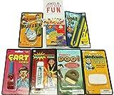 Pranks and Practical Jokes For Kids - 7 Pc Practical Joke Kit Gift Set for Kids - Jelly Belly Bean Boozled, Fart Horn, and More - now includes FREE BONUS Mini Brochure