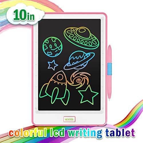 NEWYES - Tablet LCD da 10 Pollici, Display Colorato, Blocco Note Elettronico per Bambini e Adulti...