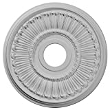 Ekena Millwork CM16ML Melonie Ceiling Medallion, 16'OD x 3 5/8'ID x 3/4'P (Fits Canopies up to 6 3/8'), Primed