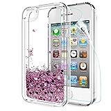 LeYi Coque iPhone 4S, Etui iPhone 4 avec Film de Protection écran, Fille...