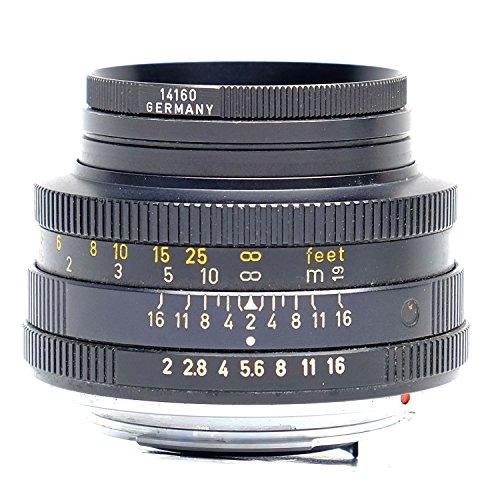 Leica 50mm f / 2.0手動フォーカスレンズsummicron-r (11345)