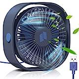 Ventilateur USB, TedGem Mini Ventilateur, Ventilateur Silencieux, Portable...