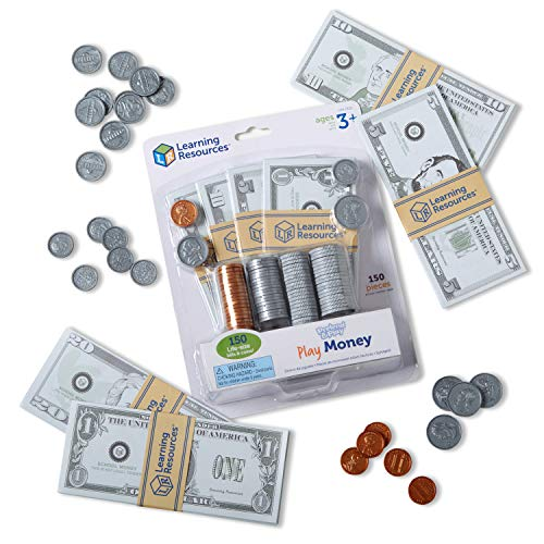 Learning Resources Pretend & Play, Play Money for Kids,...
