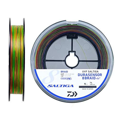 ダイワ(DAIWA) PEライン UVFソルティガデュラセンサーX8+Si2 1.5号 200m マルチカラー