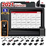 LAUNCH X431 V+ 4.0 Bi-Directional Diagnostic OBD2 Scanner Full System Scan Tool Key Programming ECU Coding 31+ Service Functions Oil Reset ABS Bleeding 2 Years Free Update, AB101 Code Reader as Gift