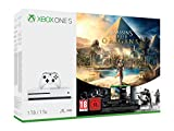Ce pack inclut : une console Xbox One S (1To), une manette sans fil, une version téléchargeable complète de assassin's Creed Origins, une version téléchargeable complète de Tom Clancy's Rainbow Six Siege , 14 jours d'accès au Xbox Live Gold, 1 mois d...