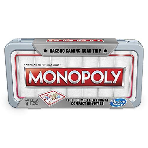 Monopoly - Jeu de Societe Road Trip - Jeu de Voyage - Version Française