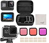 Kit d'accessoires pour GoPro Hero 8 Black Accessoires, iTrunk 24 in 1 Couverture...