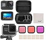 Kit d'accessoires pour GoPro Hero 8 Black Accessoires, iTrunk 24 in 1 Couverture en Silicone...