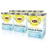 Lipton Infuse à Froid Citron Camomille, Eau froide infusée, Boisson...