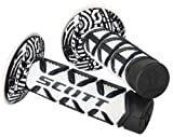 Scott Sports 219626-1007 Black/White Diamond Motorcycle Grips