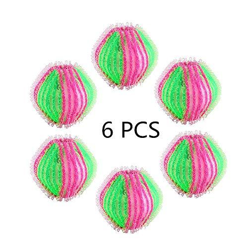 Cosanter 6 Stück Fusselbälle Mini-Waschbälle 3.5 cm...