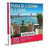 smartbox - Cofanetto Regalo - Fuga di 3 Giorni e 2 cene - Idee Regalo - 2 Notti con Colazione e 2 cene per 2 Persone