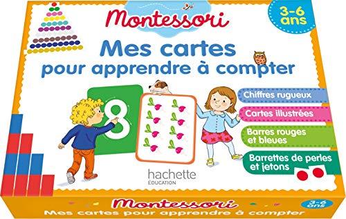 MONTESSORI Mes cartes pour apprendre à compter 3-6 ans