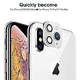 iPhone 11アップグレード用カメラカバー - iPhone用Dikkarカメラレンズプロテクター