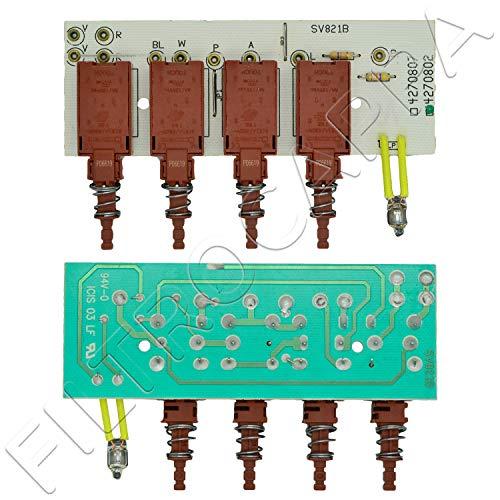 PULSANTIERA TASTIERA CON SCHEDA FABER ELECTROLUX ALNO 4270802 SV821 133.0017.064