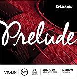 D'Addario Bowed Jeu de cordes pour violon D'Addario Prelude, manche 4/4, tension Medium