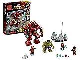 LEGO Super Heroes - Marvel - 76031 - Jeu de Construction - le Combat du Hulk...