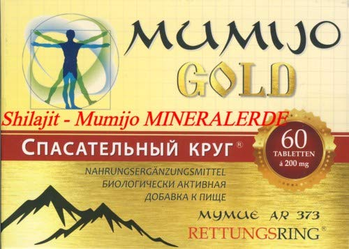 Mumijo GOLD 60 Tabletten je 200 mg