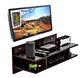 Universal Handicraft Wall Mounted TV Unit/Entertainment Unit (Wenge) Standard (Used 32 in tv Only)