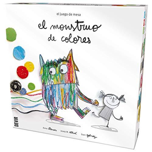 El monstruo de colores, edición en castellano