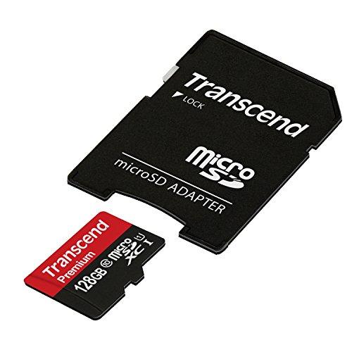 旧モデル Transcend microSDXCカード 128GB Class10 UHS-I対応 TS128GUSDU1 5年保証