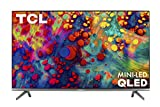 TCL 55' 6-Series 4K UHD Dolby Vision HDR QLED ROKU Smart TV - 55R635