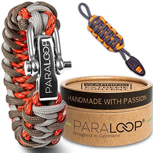 Paraloop Original | Bracelet Paracord pour Homme + Pendentif avec Sifflet |...