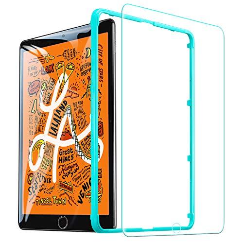 ESR iPad Mini5 2019 Mini4 ガラスフィルム 高度透明 3倍強化 旭硝子 9H スクラッチ防止 気泡防止 自動吸着...