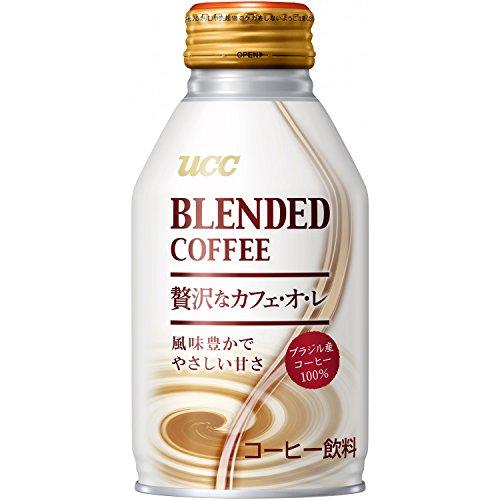 UCC ブレンドコーヒー 贅沢なカフェ・オレ 缶 260g×24本
