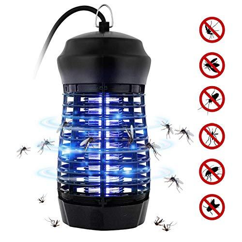 Zanzariera Elettrica, Fenvella 7W Lampada Antizanzare Elettrico Insetticida con Luce UV e Cassetto...